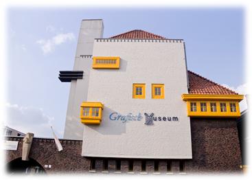 Het grafisch museum in groningen walter hoogesteger schilders - Expressionistische architectuur ...